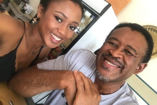 In Photos! SA Celebs And Their Fathers