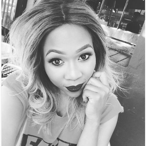 Ouch! Dineo Ranaka Slams Fan Asking For Data