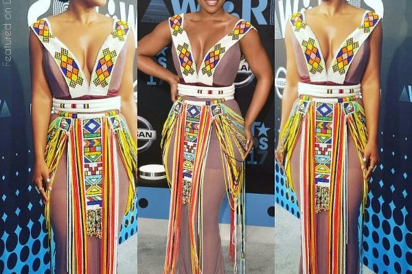 Pics! Nomzamo Slays The BET Awards Weekend