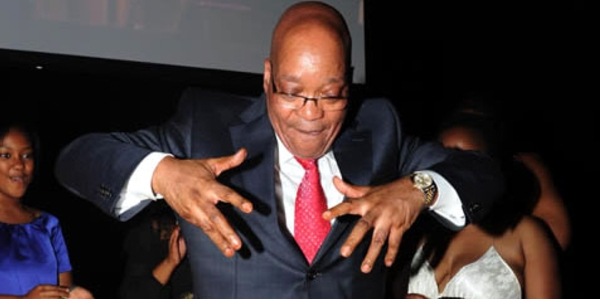 Watch! Jacob Zuma Dancing To Cassper's 'Tito Mboweni' Is All Kinds Of Lit