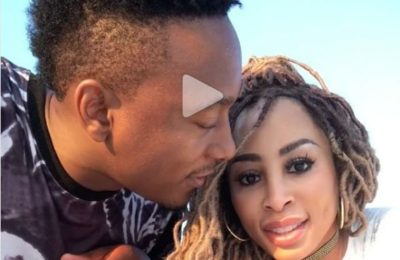 Watch! Khanyi Mbau's Cute B'day Shoutout To Her Bae