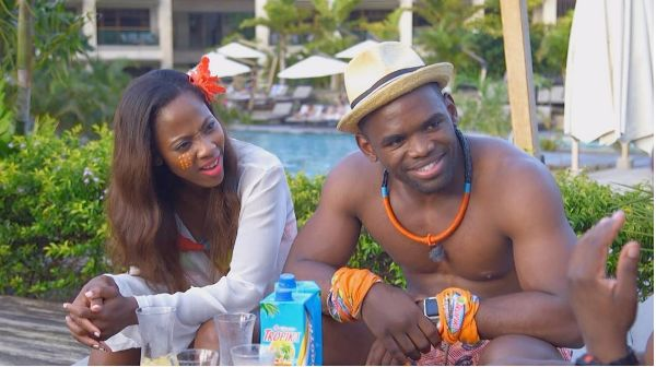 Watch! Siv Ngesi Strips Down Letting It All Hang Out