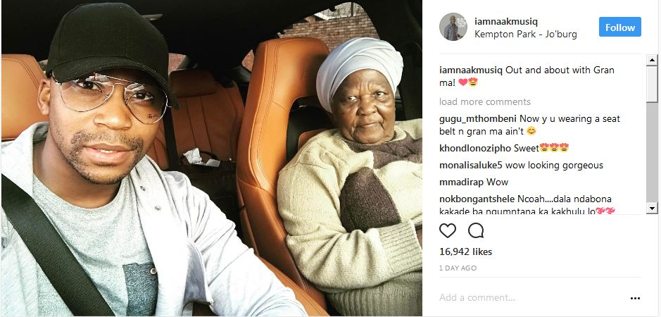 Did Anga Makubalo Bless Himself With A Car After Winning