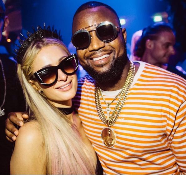 Check Out Cassper Reaction To Paris Hilton's Comment On His Photo