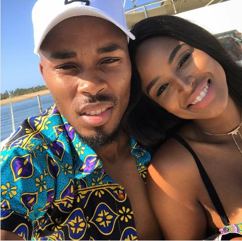 Pics! Ayanda Thabethe And Dash's 1 Year Anniversary Baecation