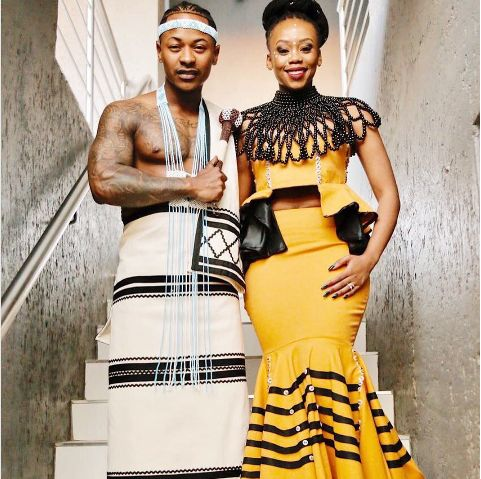 Pics! Inside Bontle And Priddy Ugly's Traditional Wedding