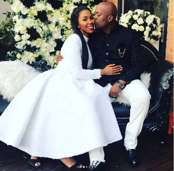 Watch! Nhlanhla Nciza's Sweet Birthday Shoutout To Her Husband