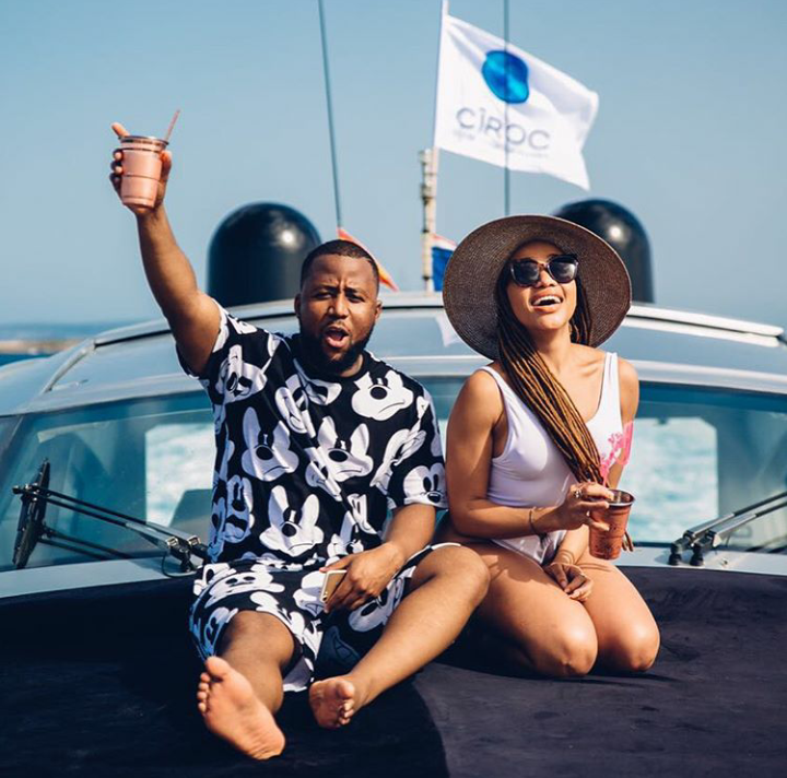 Thando Thabethe Goes Down Memory Lane To Celebrate Her Friendship With Cassper