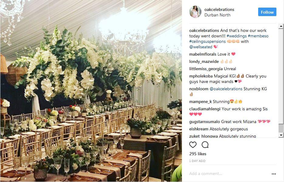 katlego maboe wedding