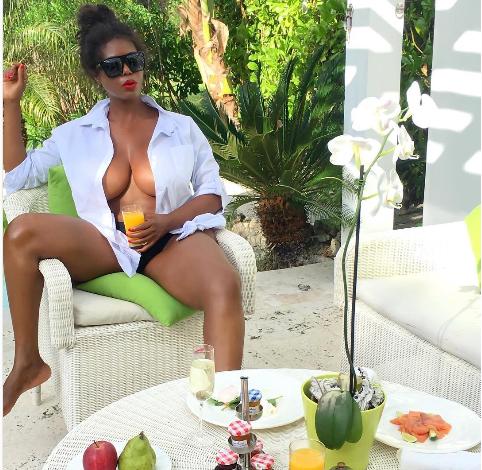 Buhle Mkize Attempts To Break The Internet With Bikini Pics
