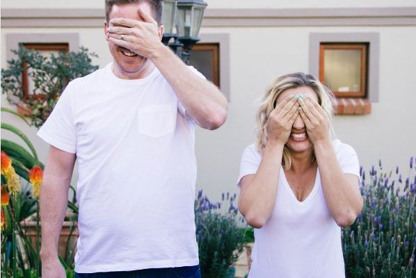 Check Out Roxy Burger's Cute Gender Reveal