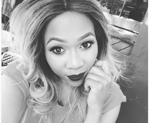 Dineo Ranaka Blesses Herself With A Brand New Car