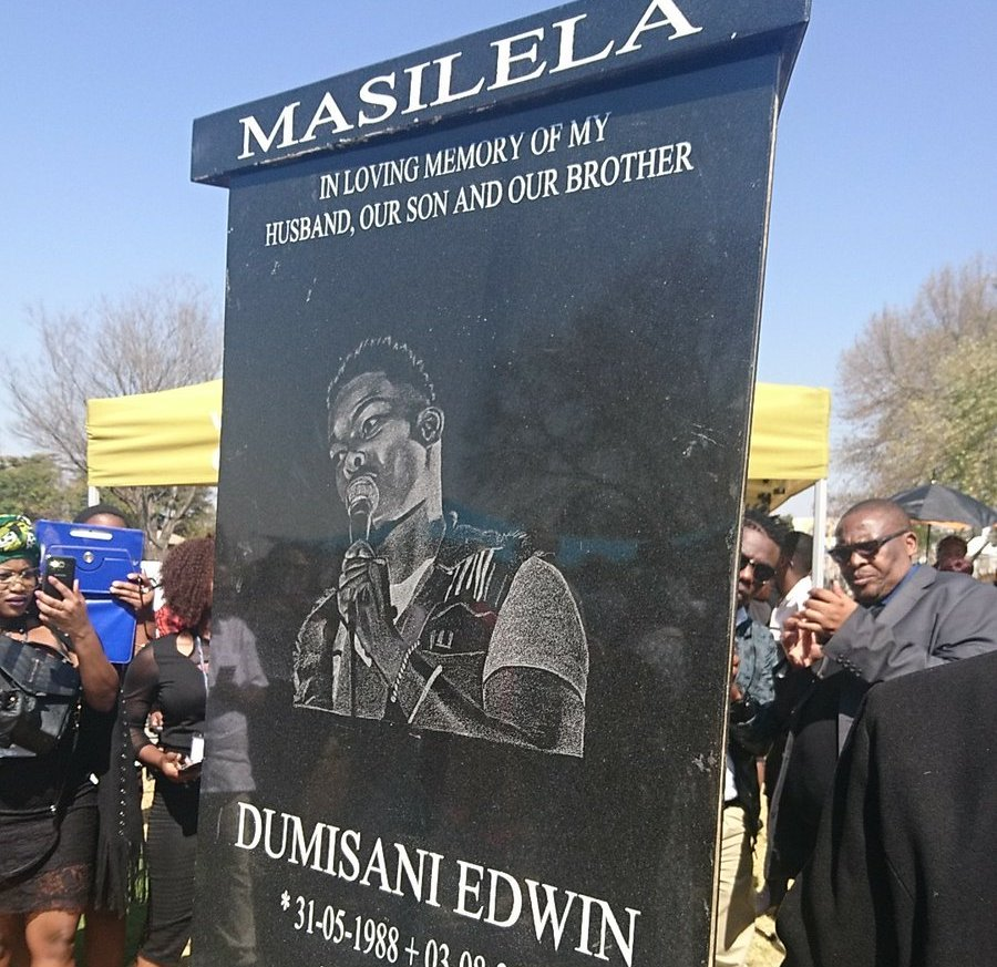 Here's How Much Dumi Masilela's Tombstone Cost