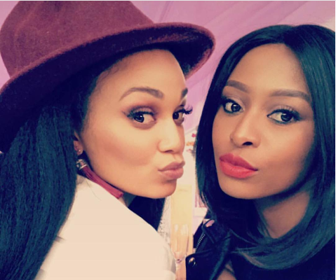 Pic! Pearl And Zinhle Serve Major Cool Mom Goals