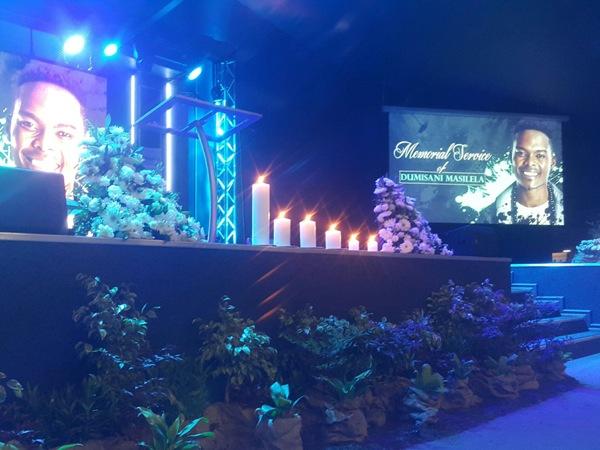 Pics! Inside Dumi Masilela's Memorial Service!