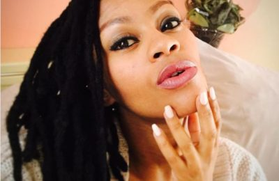 Lethoya Makhene Shares First Photo Of Her New Born Daughter