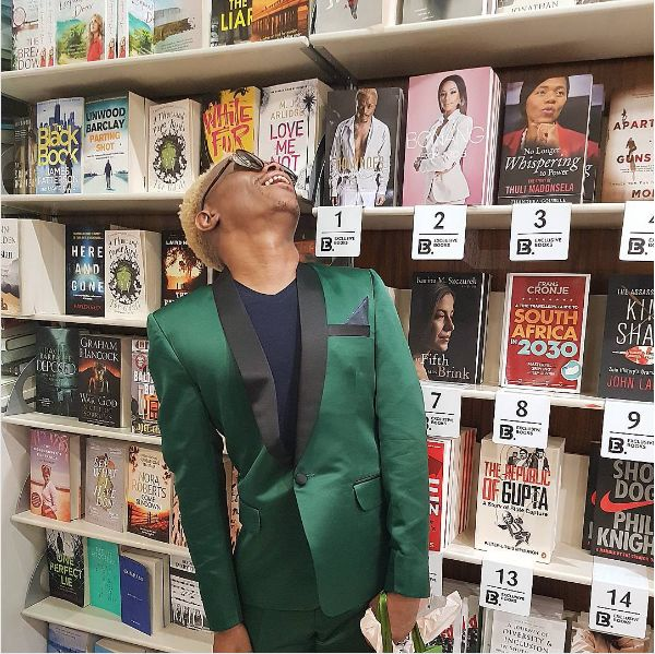 Somizi To Release Braille Version Of His Hit Book