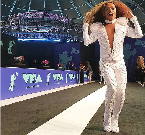 Whoa! Here's How Much Somizi's MTV VMA Outfit Cost Him!