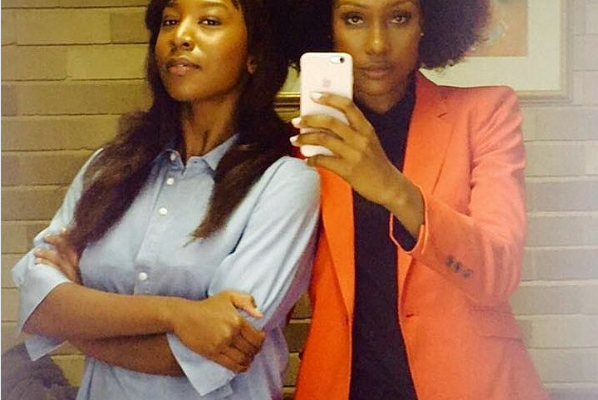 Chi Mhende Shows Her TV Sister Zoe Some Love