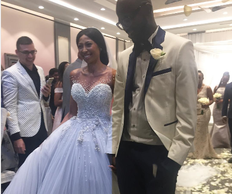 Enhle Mbali On Why She And Black Coffee Waited 7 Years For Their White Wedding