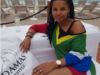 Hot Mama! Zizo Tshwete Shows Off Bikini Body On Baecation