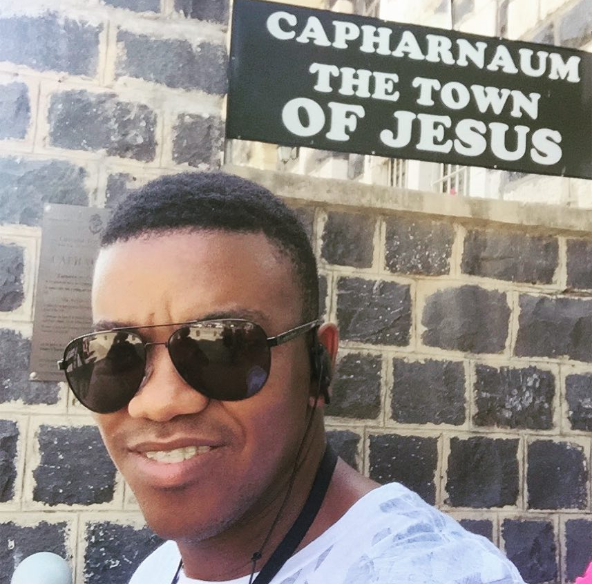 Pics! Loyiso Bala Performs Baptism In Israel
