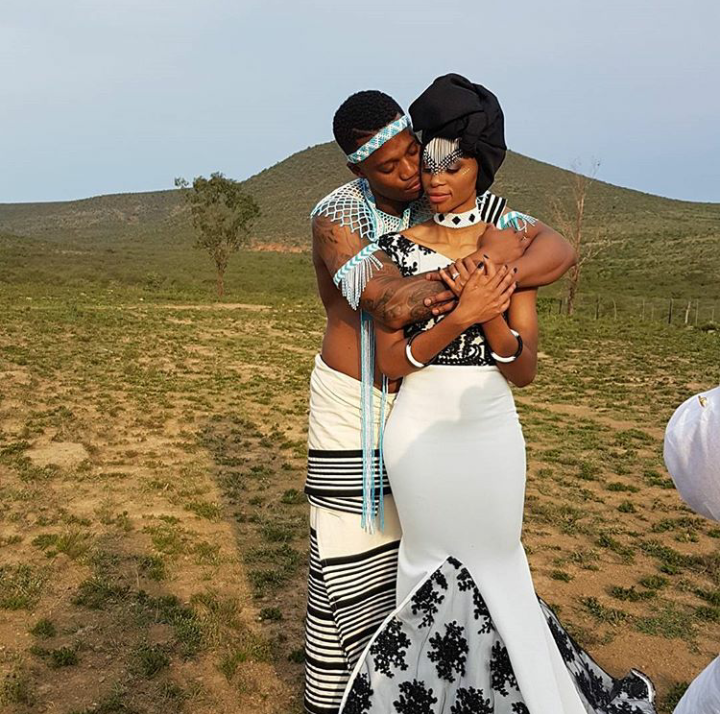 Pics! Inside Singer Thabsie's Traditional Wedding