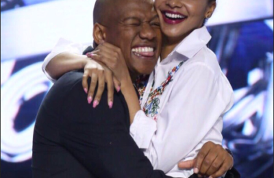 Aww, Proverb Gushes Over His Queen