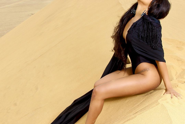 Bonang Strips Down To Lingerie For Her Latest Woolworths Campaign