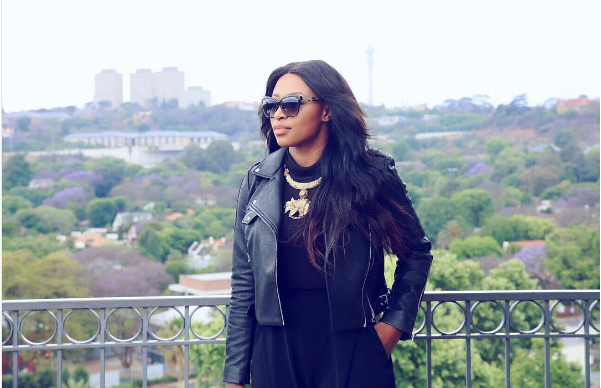 DJ Zinhle Finally Shows Kairo's Face