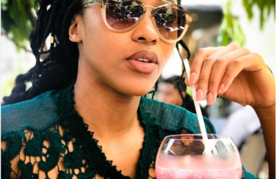 Damn Girl! Sbahle Strikes Again With Hot Pics In A Tiny Bikini