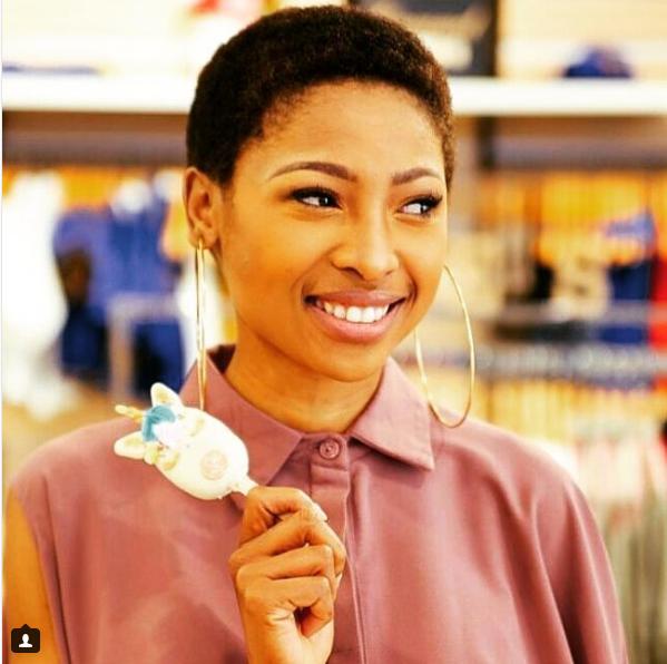 Enhle Mbali Proves She's A Fashion Rule Breaker Once Again!
