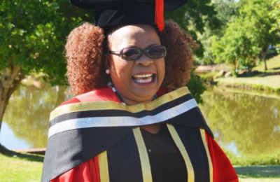 Issa Dr! Lillian Dube Receives An Honorary Doctorate From TUT