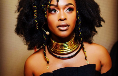 Nomzamo Claps Back To 'Repeating A Dress' Twitter Troll Diss
