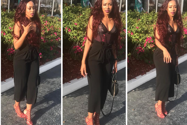 Pics! Pulane Lenkoe Shows Off Her Summer Bod Whilst On Baecation!