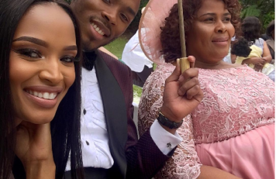 Watch! Rapper Dash Walks His Sister Down The Isle!
