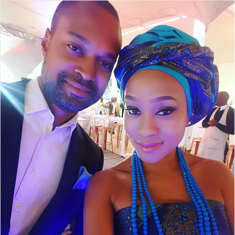 Kgomotso Christopher Opens Up About Her Long Distance Marriage
