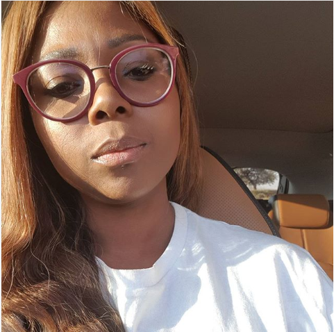Pic! Mpho Maboi Shows Off Her New Car