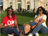 Pics! Blue Mbombo And Her Twin Slay In Italy