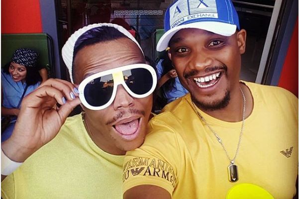 Somizi Defends His Relationship With BFF TT Mbha
