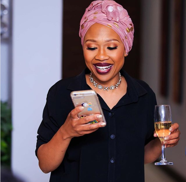 Photo of Pics! Did Dineo Ranaka Finally Answer Her Sangoma Calling?