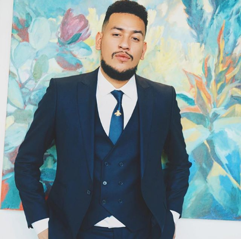 Check Out AKA's Reaction To Cassper's Filling Up FNB