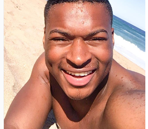 Cyprian Ndlovu Flaunts Serious Abs In Shirtless Poolside Hot Pics