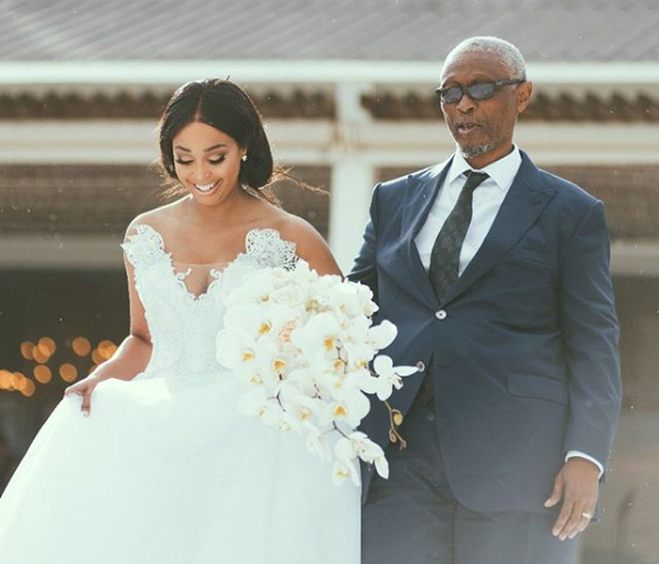 Daddy's Girls! SA Female Celebs And Their Dads