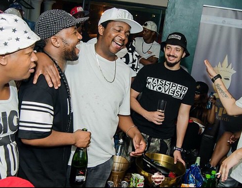 Oskido To Intervene In Cassper And DJ Maphorisa's Twitter Beef