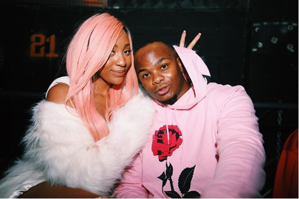 Pics! Is Nadia Nakai Dating MajorLeague's Bandile?