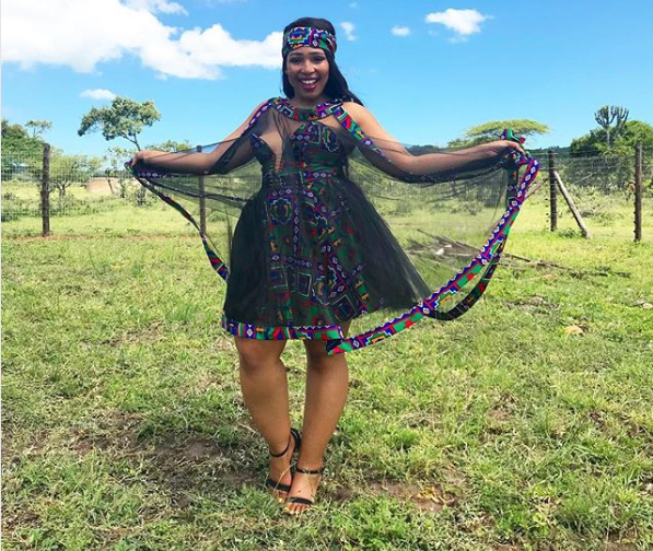 Actress Phindile Gwala Marries Congolese Beau