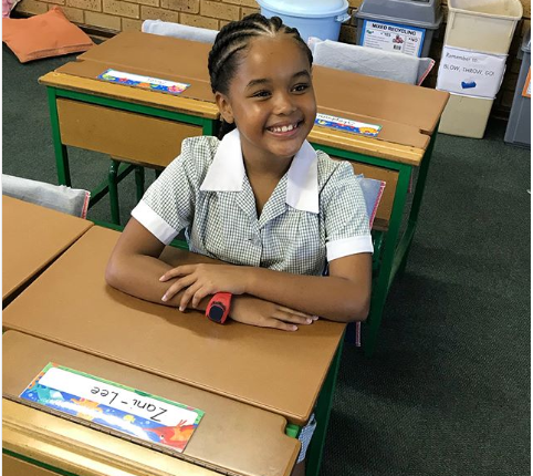 #BackToSchool SA Celebs With Their Kids On First Day Of School