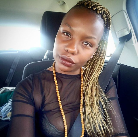 Mona Monyane Responds To 'Make Your Instagram More Celebrity' Advice