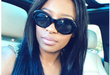 Pic! Make Up Free DJ Zinhle Like You've Never Seen Her Before